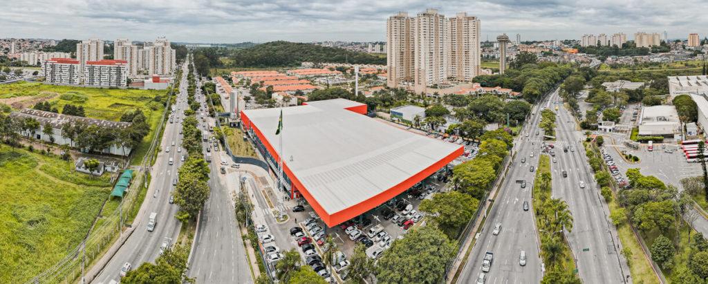 Foto Drone - Inauguração Atacadão Interlagos