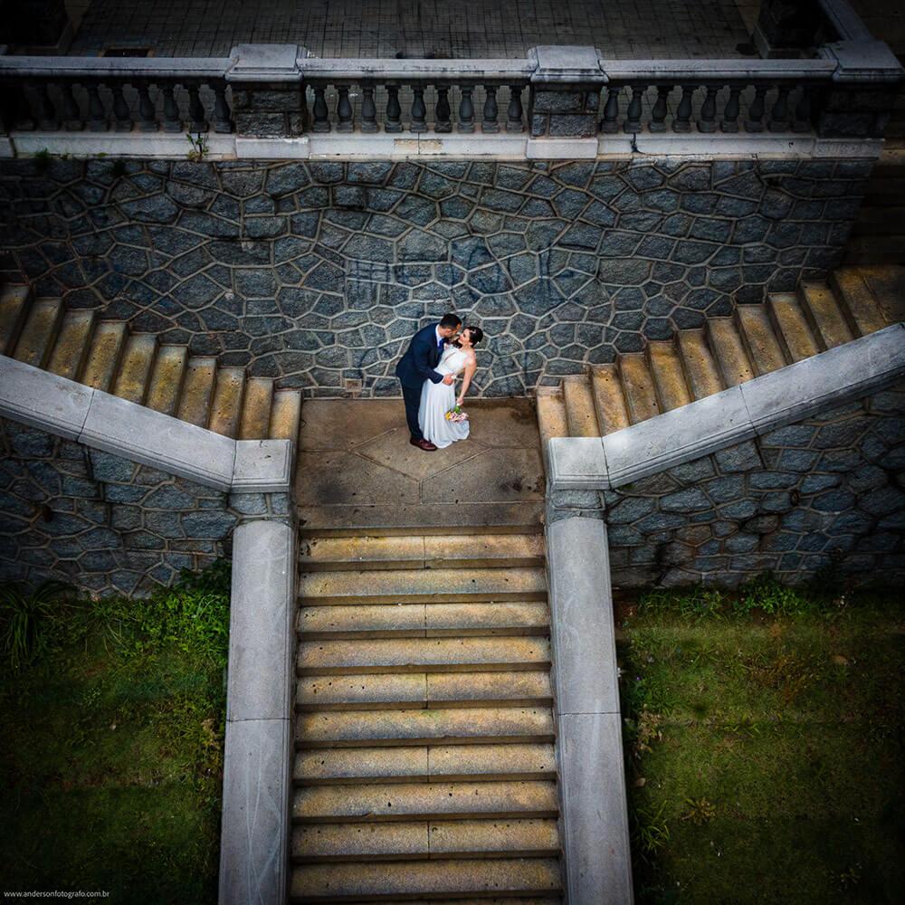 Foto de Casamento com Drone